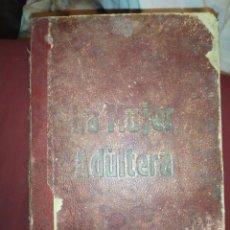 Libros antiguos: LA MUJER ADULTERA ENRIQUE PÉREZ ESCRICH MERCANTIL VALENCIANO. Lote 295367208