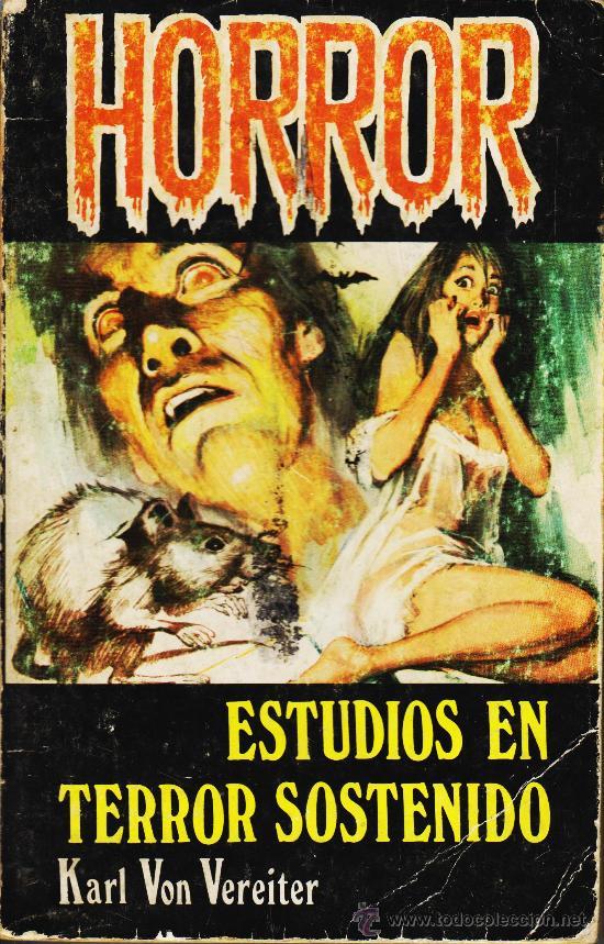 HORROR Nº 1. ESTUDIOS EN TERROR SOSTENIDO (Libros antiguos (hasta 1936), raros y curiosos - Literatura - Terror, Misterio y Policíaco)