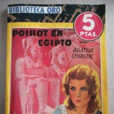 Libros antiguos: POIROT EN EGIPTO. Lote 27275146
