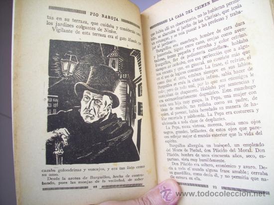 Libros antiguos: La casa del crimen por Pío Baroja de La Novela Mundial en Madrid 1926 - Foto 3 - 21624933