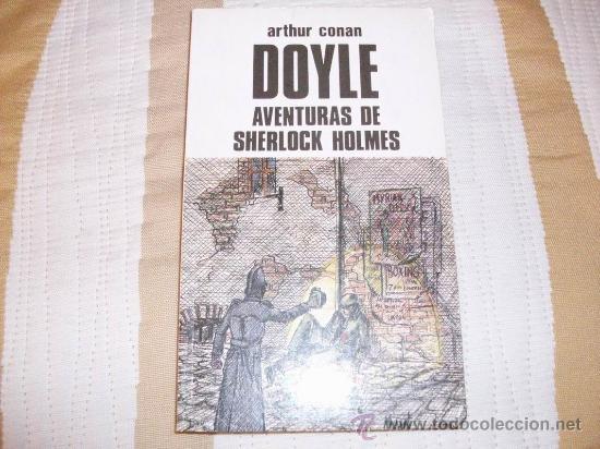 ARTHUR CONAN DOYLE LAS AVENTURAS DE SHERLOCK HOLMES (Libros antiguos (hasta 1936), raros y curiosos - Literatura - Terror, Misterio y Policíaco)