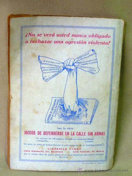Libros antiguos: NOVELA DE AVENTURAS, LA CABEZA DE UN HOMBRE, GEORGES SIMEON, Nº 38, 1934, - Foto 2 - 23679625