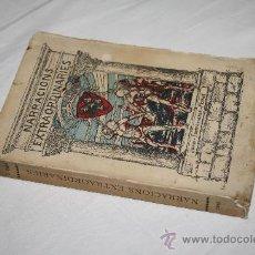 Libros antiguos: 1166- BONITO LIBRO ' NARRACIONS EXTRAORDINARIES', DE JOAN SANTAMARIA MONNÉ, AÑO 1915. Lote 27508271