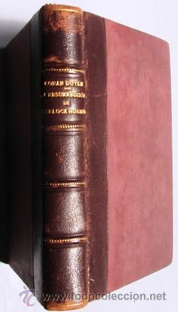 Libros antiguos: LA RESURRECCION DE SHERLOCK HOLMES. CONAN DOYLE, A. 1909. - Foto 2 - 28191799