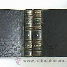 Libros antiguos: UN VIAJE AL INFIERNO. ARIZA, JUAN DE . MADRID. IMPRENTA DE D. JOSÉ MARÍA ALONSO. 1849. 2 VOLÚMENES . Lote 29919657