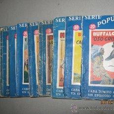 Libros antiguos: LOTE 14 TOMOS SERIE POPULAR MOLINO. Lote 30631089