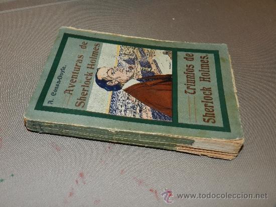 Libros antiguos: (M-23) A CONAN DOYLE , AVENTURAS DE SHERLOCK HOLMES - TRIUMFOS DE SHERLOCK HOLMES, MADRID 1907 - Foto 2 - 30924500