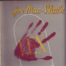 Libros antiguos: UN CRIMEN Y MEDIO. MAC-SHALZ, JOE. . Lote 31112563
