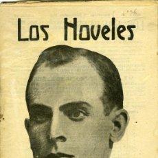 Libros antiguos: R. HOMEDES MUNDO, LOS IRREDENTOS, BARCELONA, LOS NOVELES Nº 26, 23-9-1916.. Lote 31254121