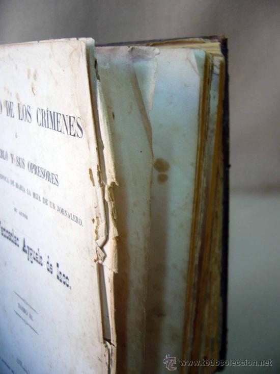 Libros antiguos: LIBRO, EL PALACIO DE LOS CRIMENES, DON WENCESLAO AYGUALS DE IZCO, TOMO II, 1855 - Foto 10 - 31793485
