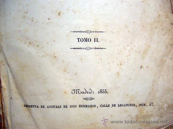 Libros antiguos: LIBRO, EL PALACIO DE LOS CRIMENES, DON WENCESLAO AYGUALS DE IZCO, TOMO II, 1855 - Foto 9 - 31793485