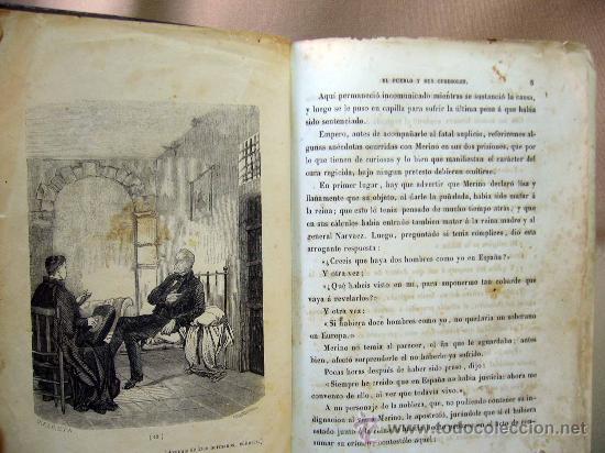 Libros antiguos: LIBRO, EL PALACIO DE LOS CRIMENES, DON WENCESLAO AYGUALS DE IZCO, TOMO II, 1855 - Foto 8 - 31793485