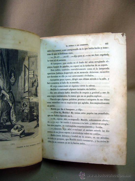 Libros antiguos: LIBRO, EL PALACIO DE LOS CRIMENES, DON WENCESLAO AYGUALS DE IZCO, TOMO II, 1855 - Foto 7 - 31793485