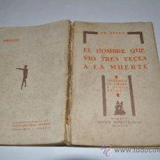Libros antiguos: LOS HOMBRES DE VIDRIO (FANTASÍA ESPIRITUALISTA) ENRIQUE FEYJÓO Y RUBIO (DOCTOR SPERO) RM10132. Lote 31881543