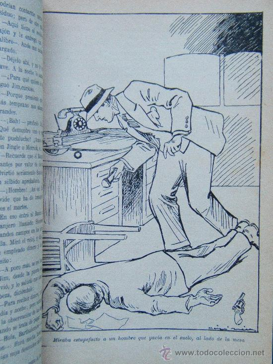 Libros antiguos: LAS HIJAS DE LA NOCHE - EDGAR WALLACE - NOVELA POLICIACA Nº III-24 - ORO-1935- 1ª EDICION EN ESPAÑOL - Foto 3 - 31979012