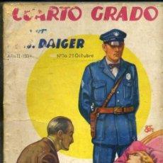 Libros antiguos: LA NOVELA AVENTURA - DAIGER : CUARTO GRADO (1934). Lote 32669955