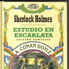 Libros antiguos: SHERLOCK HOLMES ESTUDIO EN ESCARLATA EDICOMUNICACIÓN. Lote 36956788