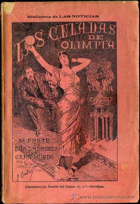 PONSON DU TERRAIL : LAS CELADAS DE OLIMPIA (1897) (Libros antiguos (hasta 1936), raros y curiosos - Literatura - Terror, Misterio y Policíaco)