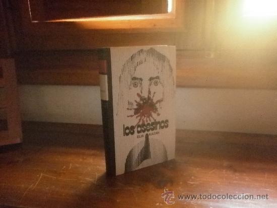 LOS ASESINOS (ELIA KAZAN) 1972 CIRCULO DE LECTORES (Libros antiguos (hasta 1936), raros y curiosos - Literatura - Terror, Misterio y Policíaco)
