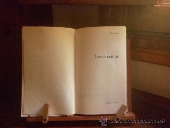 Libros antiguos: LOS ASESINOS (ELIA KAZAN) 1972 CIRCULO DE LECTORES - Foto 3 - 38377376