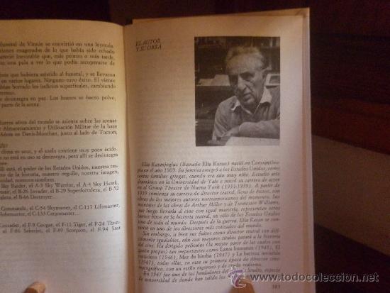 Libros antiguos: LOS ASESINOS (ELIA KAZAN) 1972 CIRCULO DE LECTORES - Foto 4 - 38377376