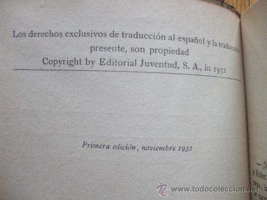 Libros antiguos: EL MISTERIO DE LOS NARCISOS, Edgar Wallace, Editorial Juventud - Foto 2 - 38595684