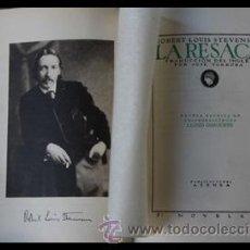 Libros antiguos: LA RESACA DE ROBERT LOUIS STEVENSON.1927 EDITORIAL ATENEA. Lote 38915853