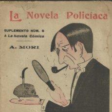 Libros antiguos: LORD CLEVELAND O UNA NOCHE SANGRIENTA. A. MORI. LA NOVELA CÓMICA. MADRID. 1918. Lote 38939606