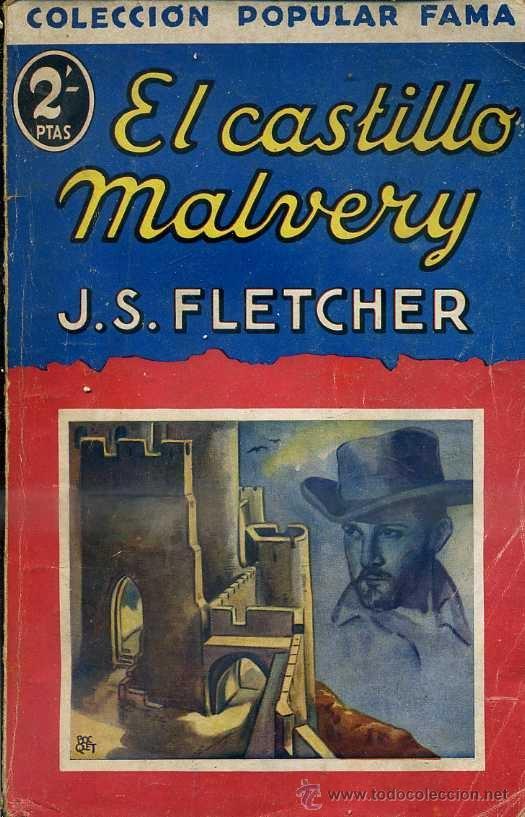 FLETCHER : EL CASTILLO DE MALVERY (POPULAR FAMA, 1932) (Libros antiguos (hasta 1936), raros y curiosos - Literatura - Terror, Misterio y Policíaco)