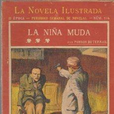 Alte Bücher - La Novela Ilustrada. Rocambole nº 114. La Niña Muda. Ponson du Terrail. - 39422860