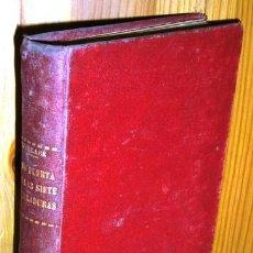Libros antiguos: LA PUERTA DE LAS SIETE CERRADURAS POR EDGAR WALLACE DE ED. M. AGUILAR EN MADRID 1931. Lote 41012205