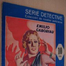Libros antiguos: EL CASO LEROUGE NOVELA POLICIACA SERIE DETECTIVE - EMILIO GABORIAU - EDITORIAL MAUCCI. Lote 41422862