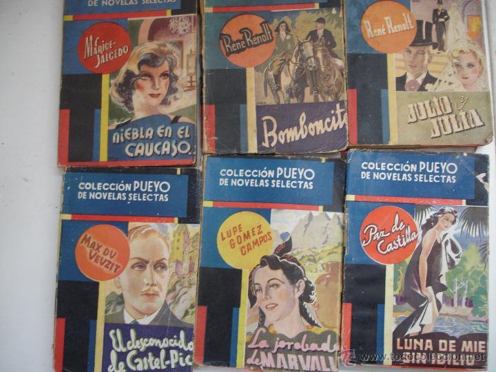 LOTE NOVELAS PUEYO (Libros antiguos (hasta 1936), raros y curiosos - Literatura - Terror, Misterio y Policíaco)