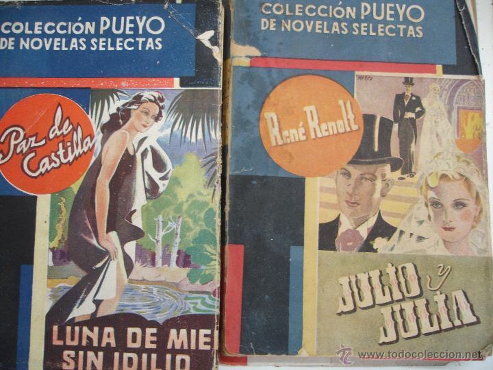 Libros antiguos: LOTE NOVELAS PUEYO - Foto 2 - 44038695
