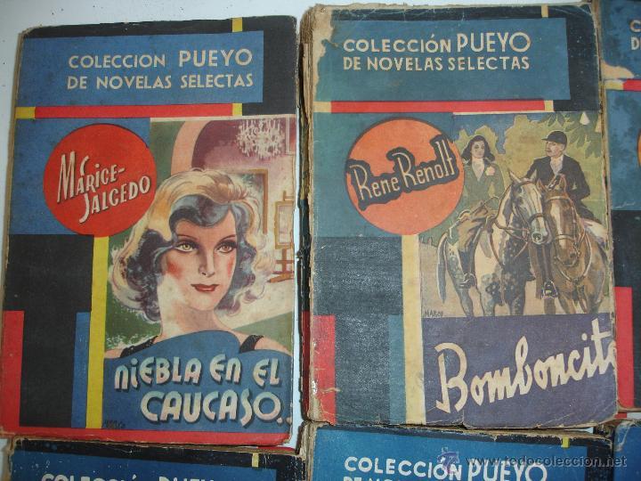 Libros antiguos: LOTE NOVELAS PUEYO - Foto 3 - 44038695