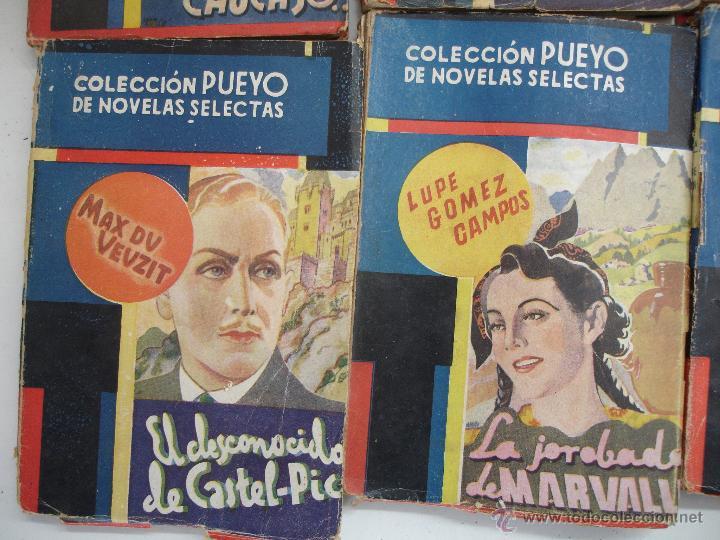 Libros antiguos: LOTE NOVELAS PUEYO - Foto 4 - 44038695