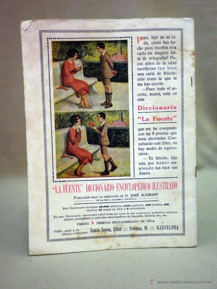 Libros antiguos: COMIC, NICK CARTER, Nº 70, EDITORIAL SOPENA, EL SECRETO DE UN PRESIDIARIO, ORIGINAL - Foto 2 - 44042018