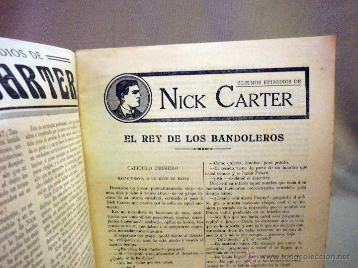 Libros antiguos: COMIC, NICK CARTER, Nº 50, EDITORIAL SOPENA, EL REY DE LOS BANDOLEROS - Foto 2 - 44042048