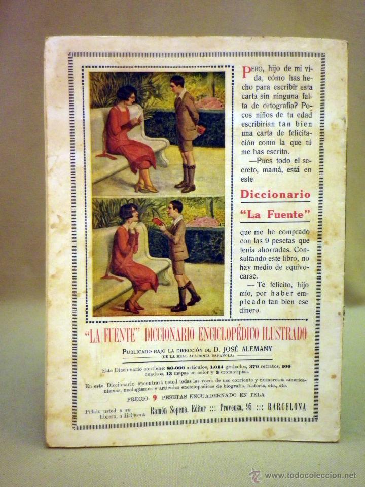 Libros antiguos: COMIC, NICK CARTER, Nº 50, EDITORIAL SOPENA, EL REY DE LOS BANDOLEROS - Foto 3 - 44042048
