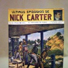 Libros antiguos: COMIC, NICK CARTER, Nº 44, EDITORIAL SOPENA, EL FANTASMA DE FUEGO. Lote 44042097