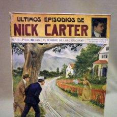 Libros antiguos: COMIC, NICK CARTER, Nº 73, EDITORIAL SOPENA,EL HOMBRE DE LAS 100 CARAS, ORIGINAL. Lote 44042120