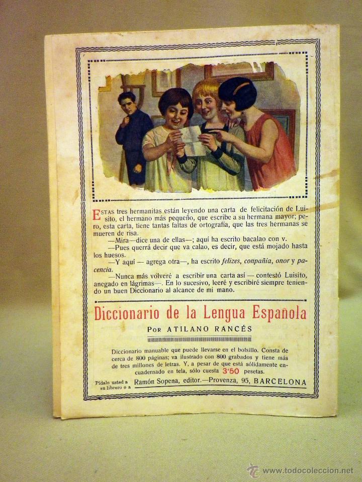 Libros antiguos: COMIC, NICK CARTER, Nº 73, EDITORIAL SOPENA,EL HOMBRE DE LAS 100 CARAS, ORIGINAL - Foto 3 - 44042120