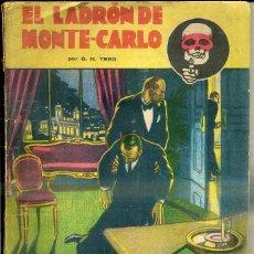 Libros antiguos: G. H. TEED ; EL LADRÓN DE MONTE CARLO (LA NOVELA AVENTURA, 1934) SEXTON BLAKE. Lote 44158962