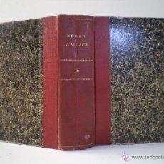Libros antiguos: EDGAR WALLACE. COL. DETECTIVE: EL ÁNGEL DEL TERROR / EL ARQUERO VERDE. AGUILAR 1931-1932. Lote 45834509