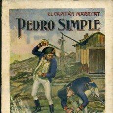 Libros antiguos: CAPITÁN MARRYAT : PEDRO SIMPLE (SOPENA, 1936). Lote 45946372