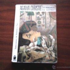 Libros antiguos: LA VENGANZA DE NOFRET, AUTORA. AGATHA CHRISTIE.. Lote 46161765