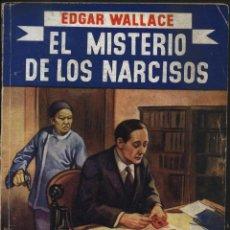 Libros antiguos: WALLACE. EDGAR, EL MISTERIO DE LOS NARCISOS. LA NOVELA AZUL,. Lote 46186975
