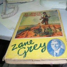 Libros antiguos: EL JINETE MISTERIOSO ZANE GREY 2 EDICION 1933. Lote 46433370