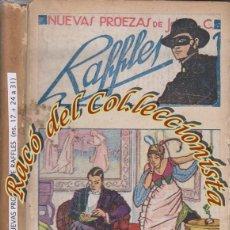 Alte Bücher - NUEVAS PROEZAS DE JOHN C. RAFFLES, E.W.HORNUNG, EDITORIAL F. GRANADA Y CIA, AÑOS 20 - 46982012