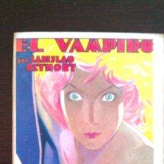 Libros antiguos: VAMPIRO DE LADISLAO REYMONT (1931). 1ª EDICIÓN EN CASTELLANO? PREMIO NOBEL. Lote 47020417